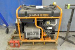 Generac Model GP17500E, 26,250 Starting Watts, 17,500 Running Watts, Portable Gas Powered Generator
