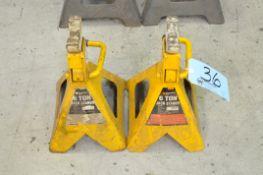 Pair Performance Tool 6-Ton Capacity Jack Stands, (Bldg 1)