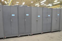 Lot-(5) 2-Door Portable Storage Cabinets, (Bldg 1)