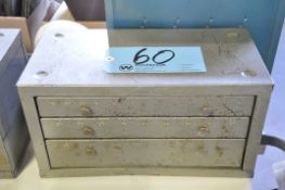 Huot Fractional 3-Drawer Drill Cabinet with Contents