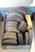 Lot-Various Grinding Wheels in (1) Box