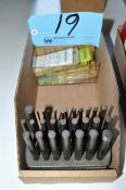 Lot-Drill Punches and Drill Blanks in (1) Box