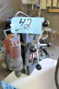Gamag 11161-8 Magnetic Base Drill Press with Milwaukee Drill Head