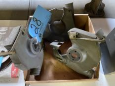 Lot-Double End Grinder Guards in (1) Box Under (1) Bench