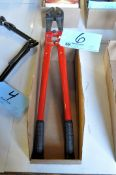 """No Name Pair 24"""" Bolt Cutters in (1) Box"""