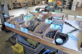 Lot-Grease Guns, Batteries, Flashlight, Solder, Hack Saws, Hammers,