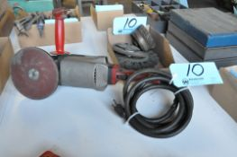 """Milwaukee 9"""" Electric Angle Grinder with Wheel in (1) Box"""