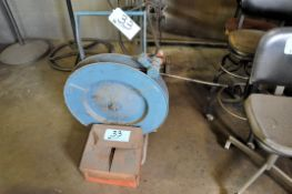 """Lot-1/2"""" Steel Banding Outfit with Tools and Box of Clips"""