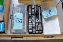 Lot-(1) Socket Set and (1) Pop Rivet Set