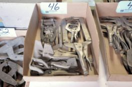 Lot-Various Vise Grip Clamps in (1) Box