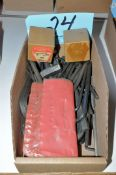 Lot-Allen Wrenches in (1) Box