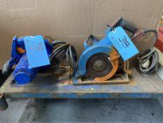 Lot of (2) Circular Saws - Lumber (110 Volt)
