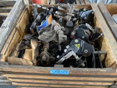 Lot of (2) 1-Ton Beam Trolleys (Various Brands Armor, Safe Lug, Etc)