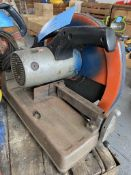 Makita 355mm model 2414 abrasive Chop Saw (110 Volt)