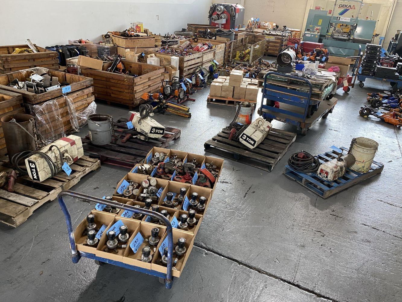 Field Equipment Surplus to a Major Michigan Construction Company