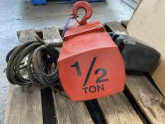 Dayton 1/2 Ton Powered Hoist (110 Volt)