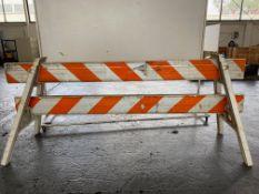 Lot of (6) Barricade - A Frames