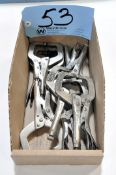 Lot-Vise Grip Welding Clamps in (1) Box