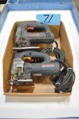 Lot-(2) Bosch Jig Saws in (1) Box