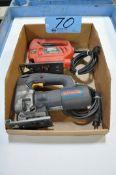 Lot-(1) Bosch and (1) Black & Decker Jig Saws in (1) Box