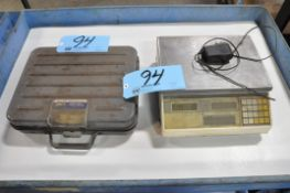 Lot-(1) Pelouze 100-Lbs. and (1) Digital 66-Lbs. Capacity Bench Top Scales