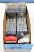Lot-Various Hand Stamp Sets in (1) Box