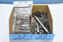 Lot-Wrenches and Socket Wrenches in (1) Box