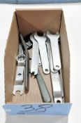 Lot-Various Wrenches in (1) Box