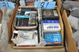 Lot-Various Hardware, Fuses, Chain, Springs, etc. in (4) Boxes