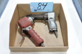 Lot-(1) Pneumatic Chisel Gun and (1) Husky Orbital Sander in (1) Box