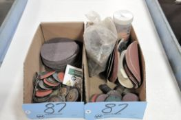 Lot-Various Sanding Disks in (2) Boxes