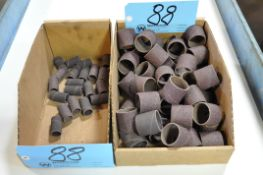 Lot-Cylindrical Sanding Disks in (2) Boxes