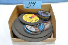 Lot-Various Cutoff and Grinding Wheels in (1) Box
