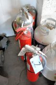Lot-(6) Various Fire Extinguishers