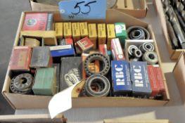 Lot-Various Bearings in (1) Box