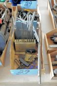 Lot-Standard and T-Handle Allen Wrenches in (2) Boxes