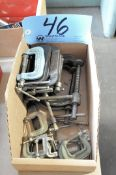 Lot-Small C-Clamps in (1) Box