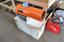 Dayton 100,000 BTU Propane Fired Portable Salamander Heater