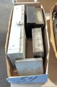 Lot-(5) Various Drill Indexes with Contents in (1) Box