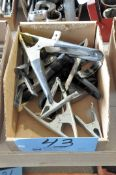 Lot-Squeeze Clamps in (1) Box