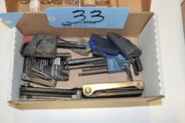 Lot-Allen Wrench Sets and T-Handle Allen Wrenches in (2) Boxes