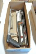Lot-Hacksaw with Blades in (1) Box