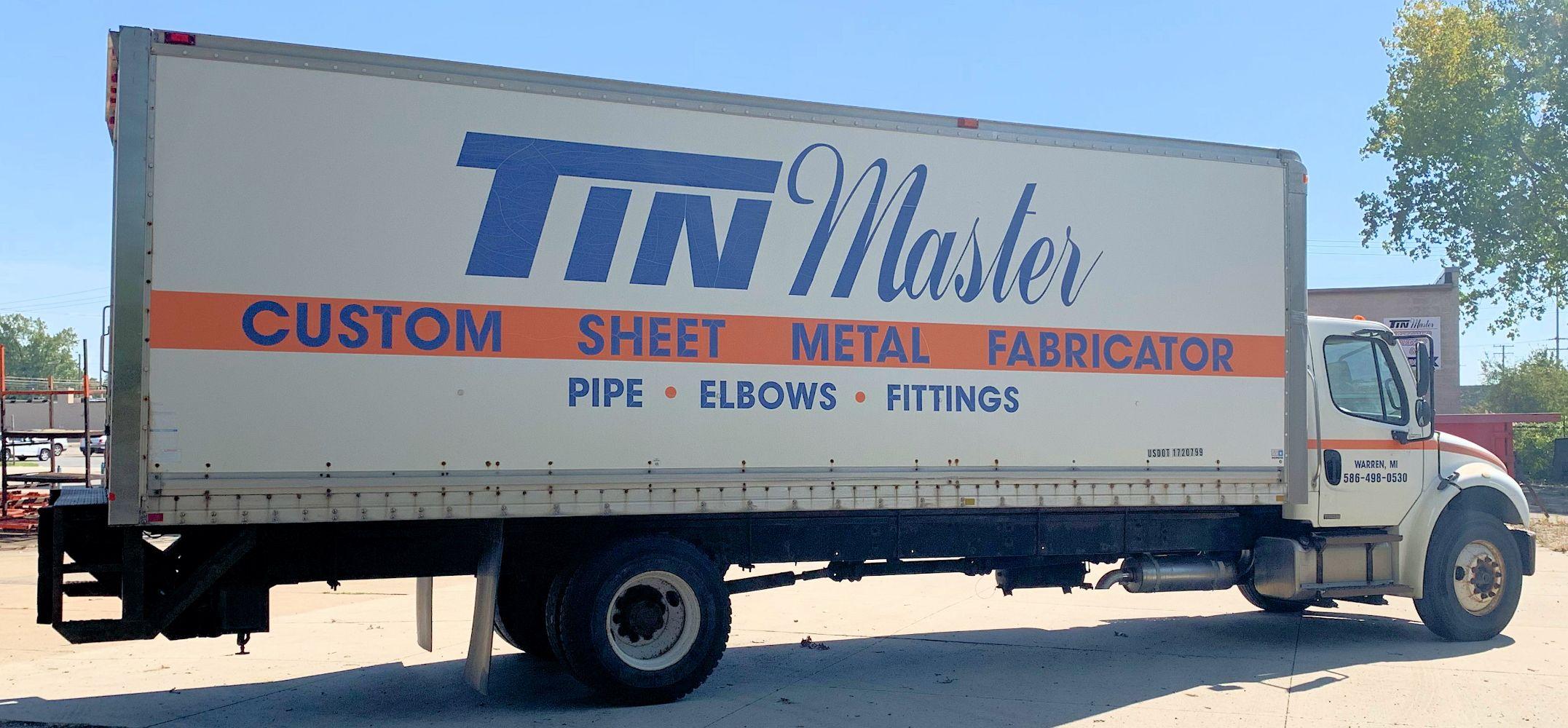 Tin Master - A Fabricator of Sheet Metal & Duct Work