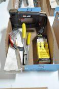 Lot-Craftsman Stapler, General Trammels, etc. in (1) Box
