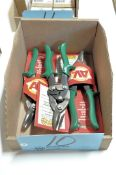 Lot-(3) Pairs Malco Aviation Snips in (1) Box