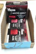 Lot-(3) Various Morse Bi-Metal Hole Saws in (1) Box