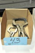 Lot-(3) Pairs Vise Grip Welding Clamps in (1) Box