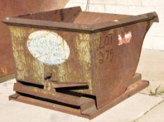 Dump Hopper, (Outside)