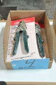 Lot-(4) Malco Snap-Lock Punches in (1) Box