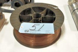 Spool of Copper Mig Welding Wire
